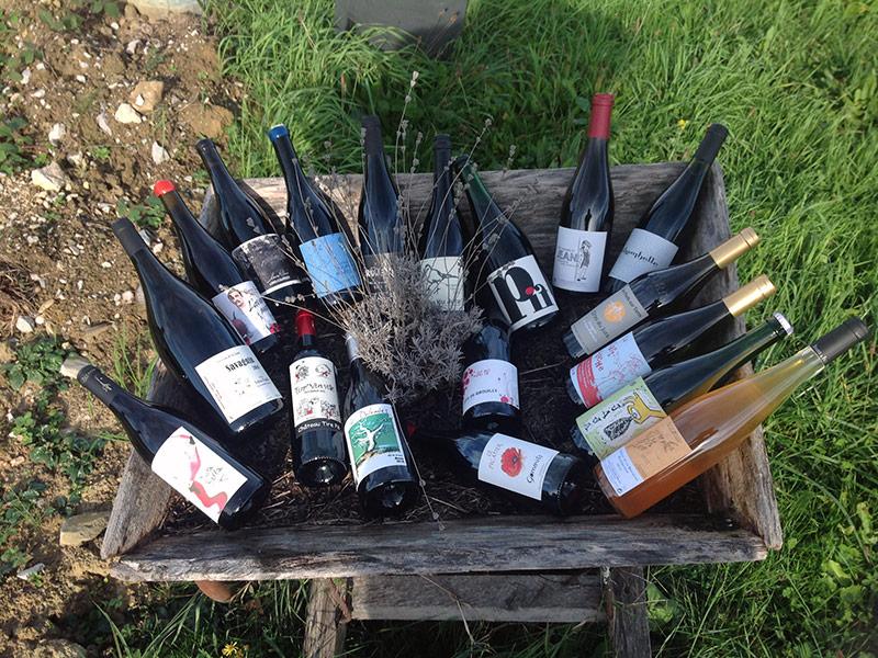Des vins naturels d'exception